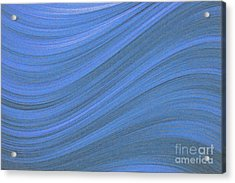 Movement In Waves Acrylic Print