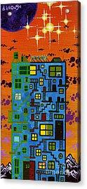 Move'n On Up Acrylic Print by Dan Keough