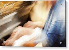 Piano Moves -  Acrylic Print