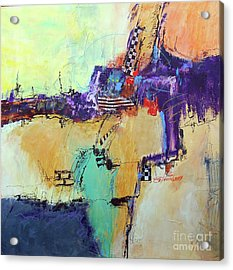 Movin' Left Acrylic Print by Ron Stephens