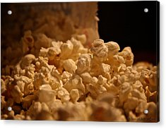 Movie Night Acrylic Print by Susan Herber