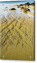 Moving Sand Acrylic Print by Brent L Ander
