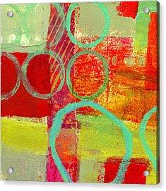 Moving Through 31 Acrylic Print by Jane Davies