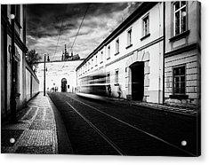 Street Tram Acrylic Print