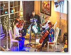 Acrylic Print featuring the photograph Mozart Mash by Anthony Baatz