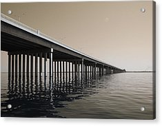 Mprints - Hwy 90 Bridge Acrylic Print