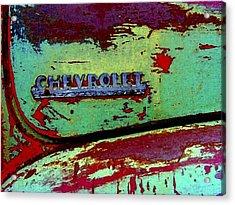 Mprints - Oldie But Goodie Acrylic Print