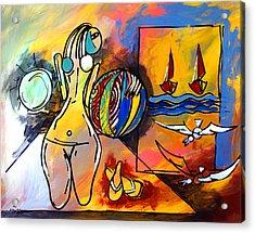 Mr Ameeba 6 Acrylic Print