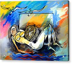 Mr Ameeba 9 Acrylic Print