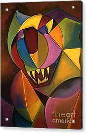 Mr. Boogs Acrylic Print by Tracey Levine
