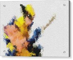 Mr. Claw Acrylic Print by Miranda Sether