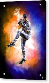 Mr. Justin Verlander Acrylic Print