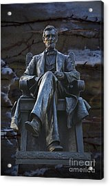 Mr. Lincoln Acrylic Print