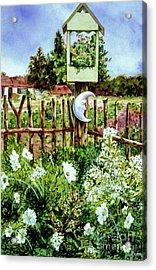 Mr Moon's Garden Acrylic Print