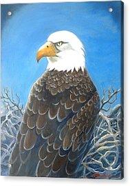 Mr. President Acrylic Print by Marilyn Jacobson