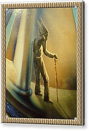 Mr Religion Grows Old Acrylic Print by Joe Santana