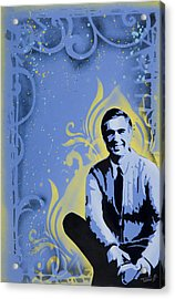 Mr. Rogers Acrylic Print