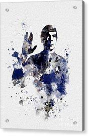 Mr Spock Acrylic Print