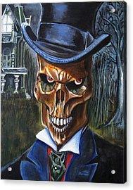 Mr. Styx Acrylic Print by Chris Benice