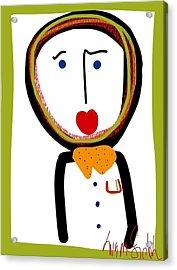 Mr. Tidy Boy Acrylic Print