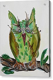 Mr.lime Owl Acrylic Print