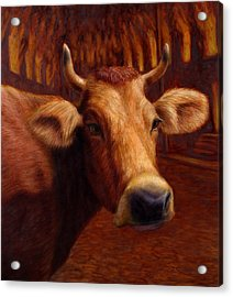 Mrs. O'leary's Cow Acrylic Print