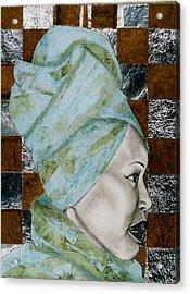 Mrs. Seneferu Acrylic Print by Malik Seneferu