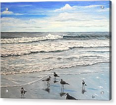 Mrytle Beach Acrylic Print by Mike Ivey