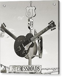 Ms Crossroads Acrylic Print