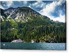 M.s. Dixie II, Lake Tahoe, Ca Acrylic Print