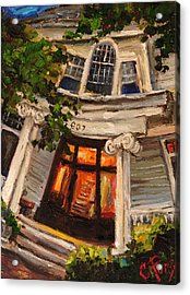 Ms Felkers Home Acrylic Print by Carole Foret