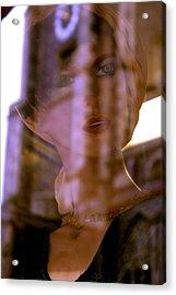 Ms Fidler Acrylic Print by Jez C Self