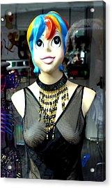 Ms Palmer 2 Acrylic Print by Jez C Self