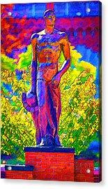 Msu Sparty Acrylic Print