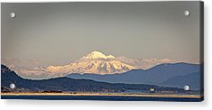 Mt Baker  Acrylic Print by Klaus Bohn