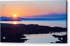 Mt. Baker Sunrise Acrylic Print