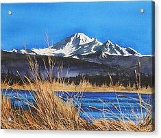Mt Baker Wiser Lake Acrylic Print by James Williamson