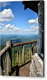 Mt. Cammerer Acrylic Print