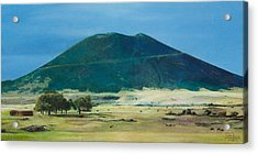 Mt. Capulin In Summer Acrylic Print