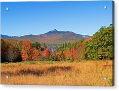Mt. Chocorua Autumn 2 Horizontal Acrylic Print