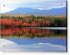 Mt. Chocorua Reflections I Acrylic Print by Lynne Guimond Sabean