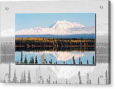 Acrylic Print featuring the photograph Mt. Drum - Alaska by Juergen Weiss