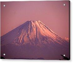 Mt. Fuji, Yamanashi,japan Acrylic Print by Juno808