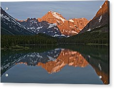 Acrylic Print featuring the photograph Mt. Gould by Gary Lengyel