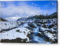 Mt. Hood Morning Acrylic Print