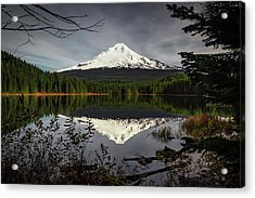 Mt Hood Reflection Acrylic Print