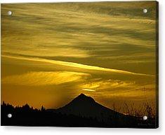 Mt. Hood Sunrise Acrylic Print