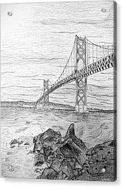 Mt. Hope Bridge Acrylic Print