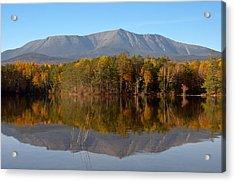 Mt Katahdin Baxter State Park Fall 1 Acrylic Print by Glenn Gordon