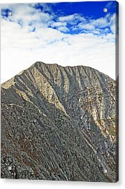 Mt. Katahdin Baxter State Park Maine Acrylic Print by Brendan Reals
